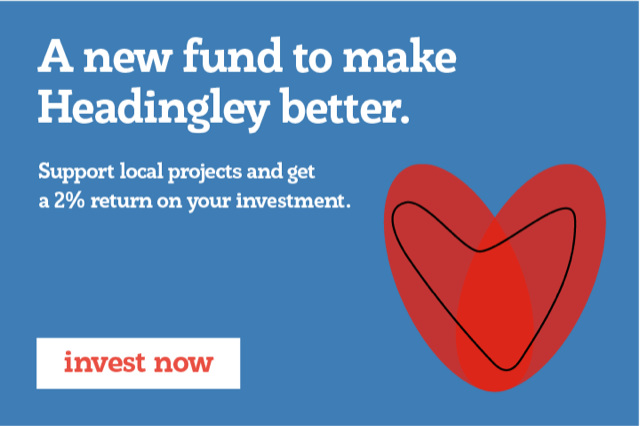 Headingley Development Trust have launched a new community share offer to keep supporting us and other good things in Headingley. Find out more and invest at http://ethex.org.uk/HeadingleyDT